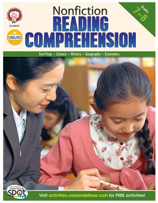 Nonfiction Reading Comprehension By Cameron, Schyrlet/ Myers, Suzanne